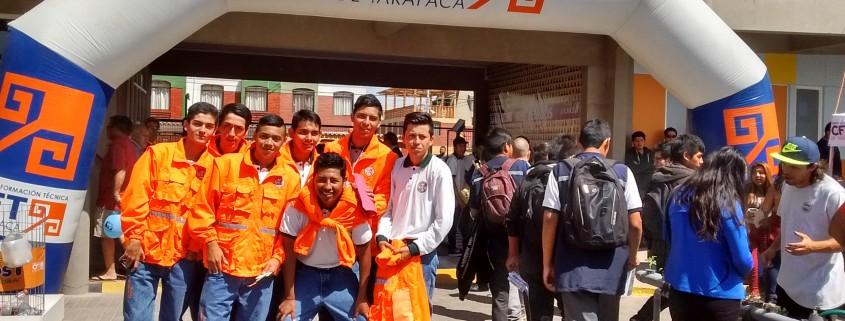 Liceos y colegios de Arica dijeron presente