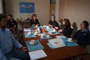 Reunión con equipo PMI