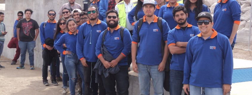 Seremi acompañó a estudiantes del CFT en una visita al Bocatoma del valle de Azapa