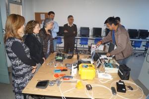 Visita al laboratorio de TNS en Telecomunicaciones y Conectividad