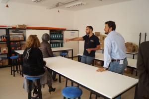 Visita al laboratorio de TNS en proyectos Eléctricos de Distribución